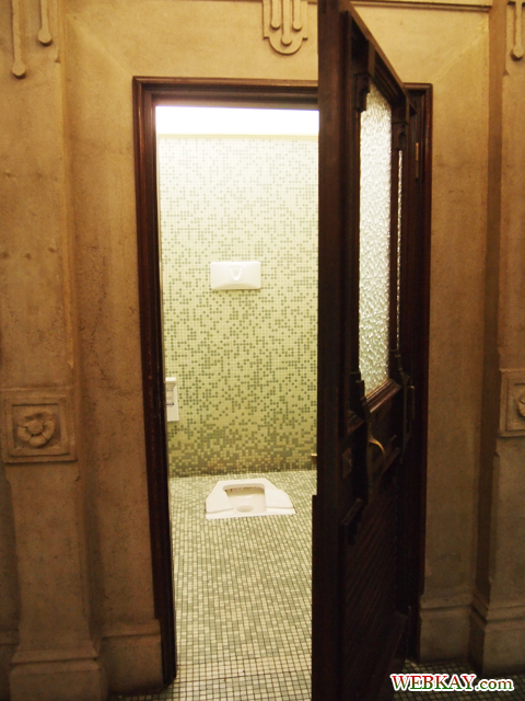 トイレ 地下 Verona ヴェローナ 散策 イタリア ぶらり旅 レビュー