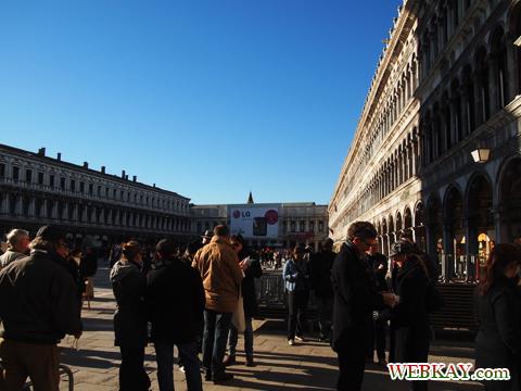 サン・マルコ広場,Piazza San Marco,ベネチア,ヴェネツィア,venezia,イタリア旅行,散策