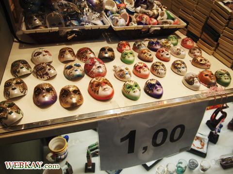 ベネチアの仮面,お土産,ショップ,ベネチア,ヴェネツィア,venezia,イタリア旅行,観光スポット