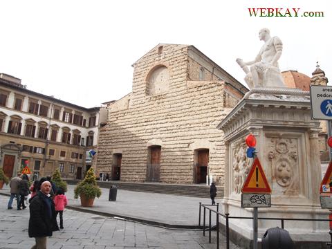 メディチ家礼拝堂(Cappelle medicee)の旧聖具室(Sagrestia Vecchia) イタリア旅行 フィレンツェ