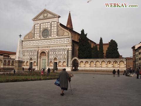 サンタ・マリア・ノヴェッラ広場&Novella教会 イタリア旅行 フィレンツェ