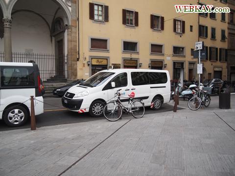 スカラ通り サンタ・マリア・ノヴェッラ広場周辺 Piazza di Santa Maria Novella イタリア旅行 フィレンツェ firenze