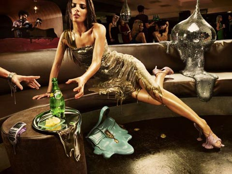 フォトマニピュレーション Photomanipulation Perrier: Melt, Club