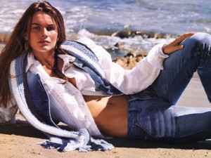 French model Filippa Hamilton