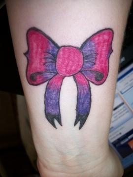 Tattoo Designs タトゥー 腕 リボン
