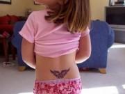 girl tattoo 女の子とタトゥー